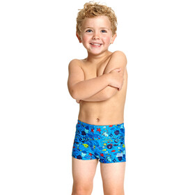 Zoggs Sea Life Hip Racer Boys blue/multi